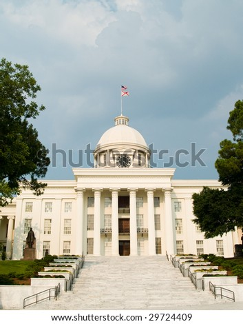 Alabama State Capitol Building - stock photo