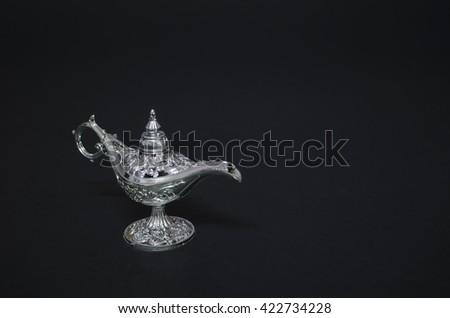Aladdin magic lamp  - stock photo