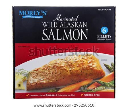 ... Morey's brand Marinated Wild Alaskan Salmon. Season Grilled. Frozen