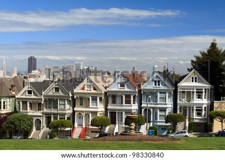 Alamo Square, San Francisco California