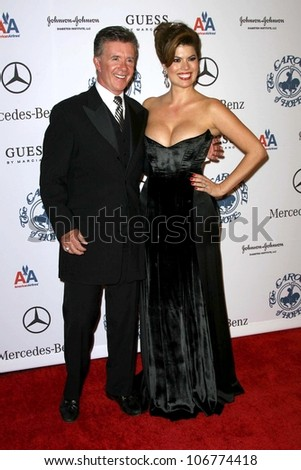 Alan Thicke and Tanya Callau at the 30th Annual Carousel of Hope Ball to benefit the Barbara Davis Center for Childhood Diabetes, Beverly Hilton, Beverly Hills, CA. 10-25-08