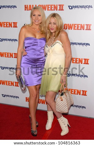 Alana Curry and Jennifer Blanc-Biehn at the Los Angeles Premiere of 'Halloween II'. Grauman's Chinese Theatre, Hollywood, CA. 08-24-09