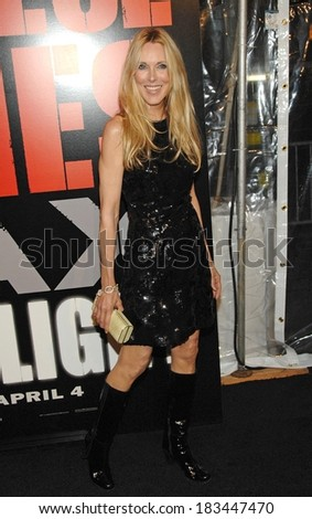Alana Stewart at SHINE A LIGHT Premiere, Clearview's Ziegfeld Theater, New York, NY, March 30, 2008