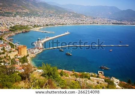 Alanya, Turkey - stock photo