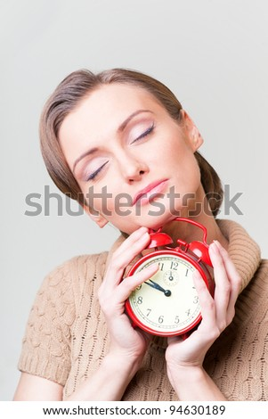 alarm - stock photo