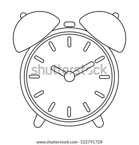 Alarm Clock Stock Vector 202047847 Shutterstock