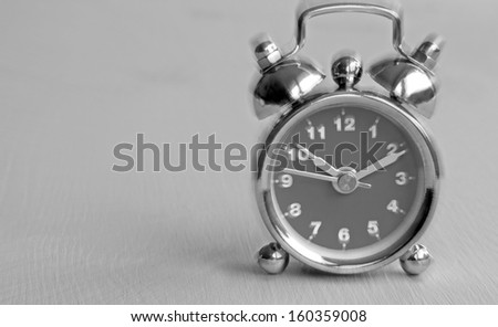 alarm clock mono with space