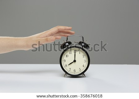 Alarm Clock Off - Stop Motion
