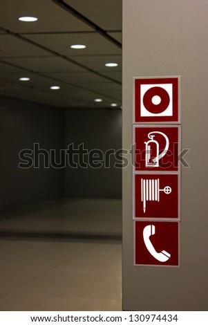 alarm emergency equipment - stock photo