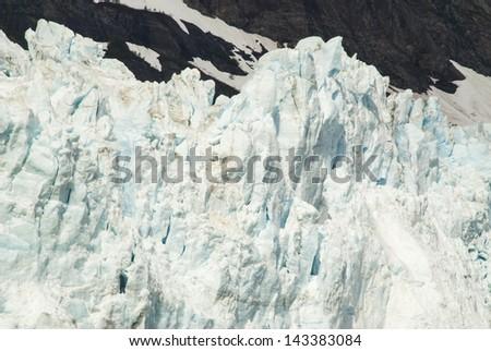 Alaska, Glacier Bay - In front of glacier - Travel destination - stock photo