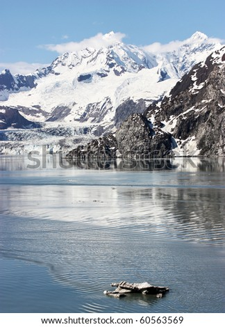 Alaska Mountains in Glacier Bay