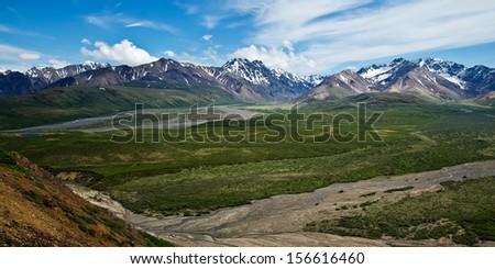 Alaska's Denali National Park - stock photo