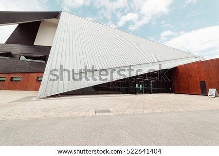 ALBANY, AUSTRALIA - November 8, 2016 : Albany Entertainment Centre is the Great Southern's premier multi-purpose venue, home to the Princess Royal Theatre, View Restaurant and Albany Box Office.