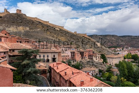 Albarracin, medieval town of Spain, in the province of Teruel
