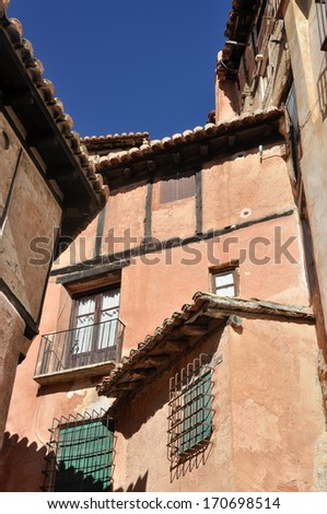 Albarracin, town in Teruel (Spain)