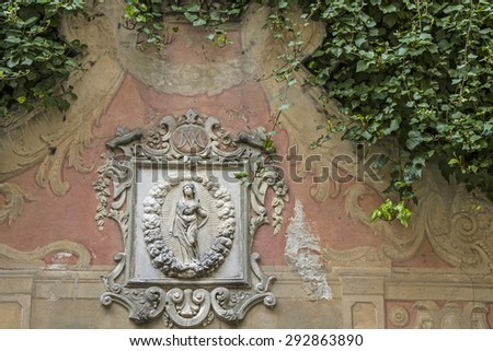 Albenga - impressions and details from the historical town on the Palms Riviera - stock photo
