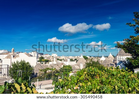 Alberobello Trulli - Classic homes.