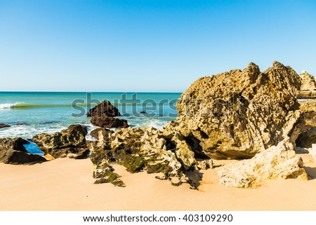 Albufeira, Portugal - stock photo