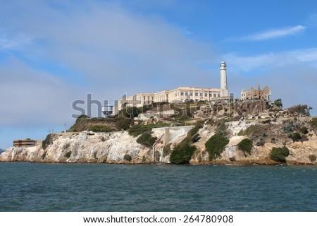 Alcatraz - stock photo