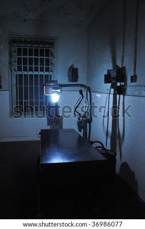 Alcatraz Hospital - stock photo