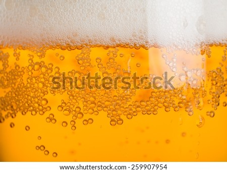 Alcohol, ale, beer. - stock photo
