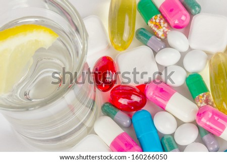 Alcohol and pills