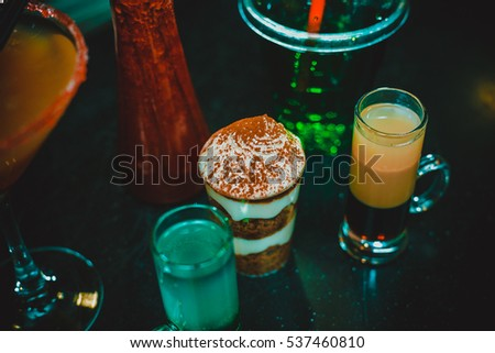 Alcohol cocktails