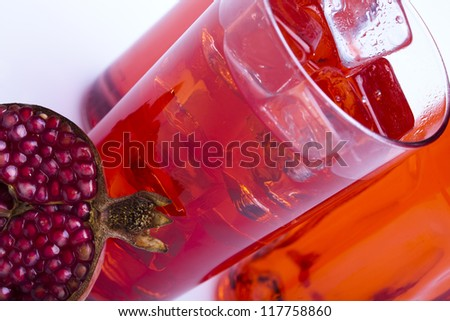 Alcohol drink - stock photo
