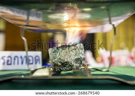 alcohol fuel - stock photo