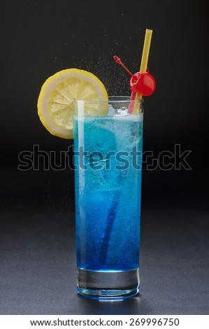 alcoholic cocktail - stock photo