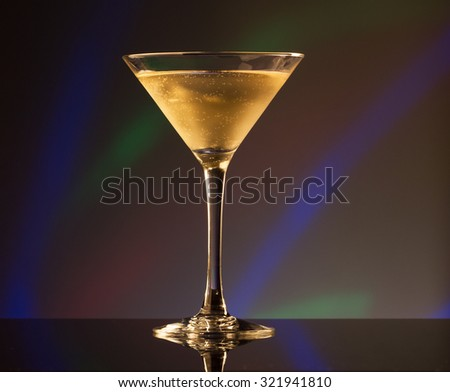 Alcoholic cocktail drink - stock photo