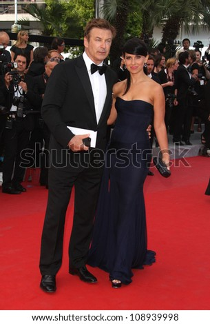 Alec Baldwin and Hilaria Thomas attending 'Mud' premiere during the 65th annual Cannes Film Festival, Cannes, France. 26/05/2012 Picture by: Henry Harris / Featureflash