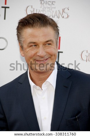 "Alec Baldwin at the 2012 AFI Fest screening of ""Rise of the Guardians"" held at the Grauman's Chinese Theater in Los Angeles, California, United States on November 4, 2012."