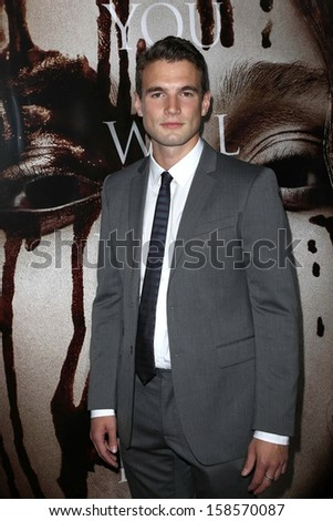 "Alex Russell at the ""Carrie"" Los Angeles Premiere, Arclight, Hollywood, CA 10-07-13"