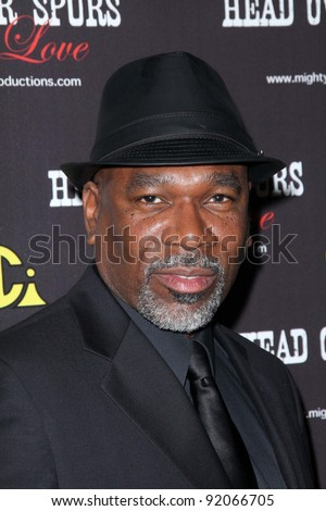 "Alfonso Freeman at the ""Head Over Spurs in Love"" Premiere, Majestic Crest Theater, Westwood, CA. 03-24-11"