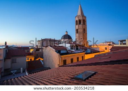 Alghero, Sardinia - stock photo