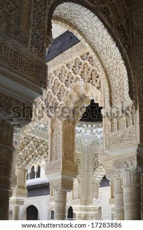 Alhambra, Spain - stock photo