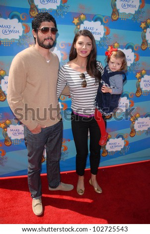 Ali Landry and Alejandro Gomez Monteverde at the Make-A-Wish Foundation's Day of Fun Hosted by Kevin & Steffiana James, Santa Monica Pier, Santa Monica, CA. 03-14-10