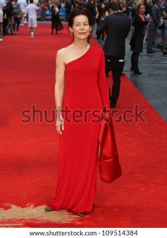 Alice Krige arriving for the Chariots of Fire Premiere held at the Empire Leicester Square -  London, England. 10/07/2012 Picture by: Henry Harris / Featureflash