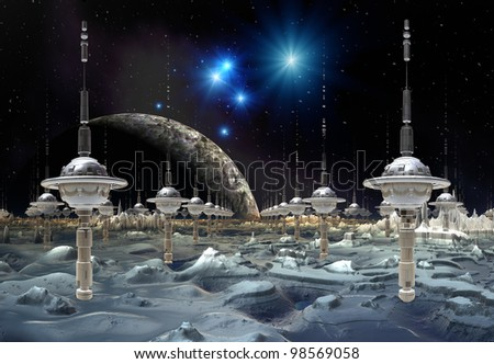 Science Fiction Landscape Stock Images, Royalty-Free ...