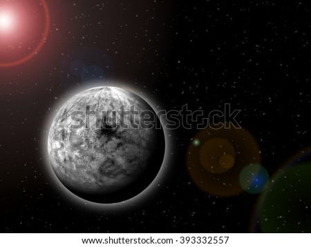 Alien Planet Near Its Planetary System's Central Star
