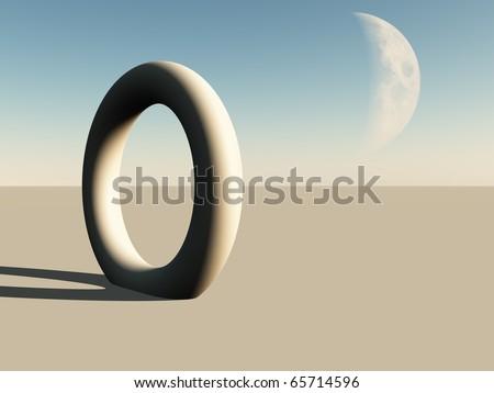 Alien World - stock photo