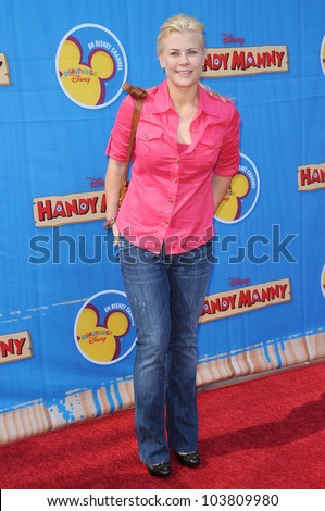 Alison Sweeney at the Los Angeles Premiere of 'Handy Manny Motorcycle Adventure'. Arclight Hollywood, Hollywood, CA. 09-26-09 - stock photo