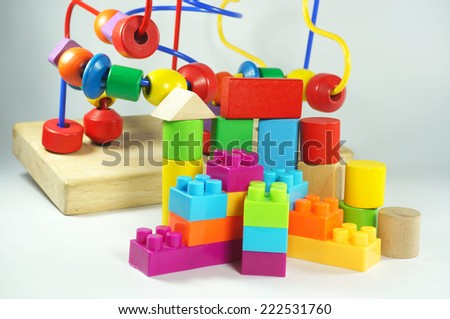 all colour toy for kid learning