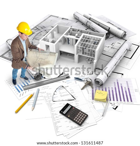 Property development stock images royalty free images for Mortgage for house under construction