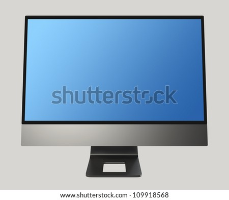 all in one PC (blue screen)