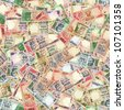 All indian banknotes high resolution seamless texture/Indian money seamless texture - stock photo
