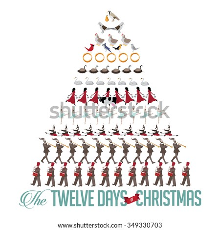 12 Days Of Christmas Stock Images, Royalty-Free Images ...