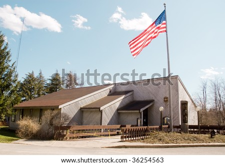 Allegheny National Forest ranger station