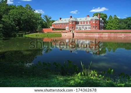 Allerton castle - stock photo